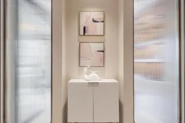 160㎡粉色系现代+轻奢风装饰玩转少女心的绝美规划