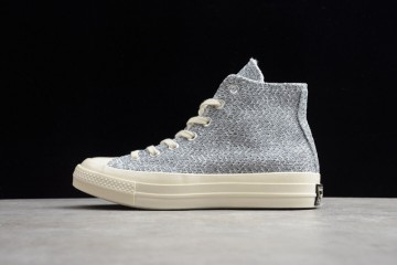 匡威CONVERSEALLSTAR1970SSNLRENEWHI亚麻针织石灰板鞋