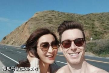 陈赫前妻许静晒男友相片看来他们很美好回眸笑目光撩人