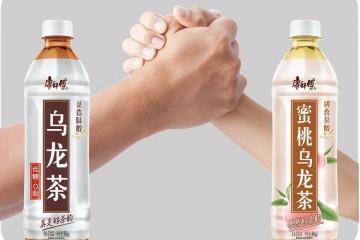 """康师傅饮品再发力乌龙茶市场,乌龙茶""""最强兄弟""""全新上市"""